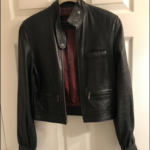 74029bfd95a2 Luis Alvear Jackets   Blazers - Italian Leather Jacket